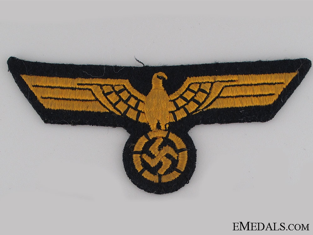eMedals-A Uniform Removed Kriegsmarine Breast Eagle