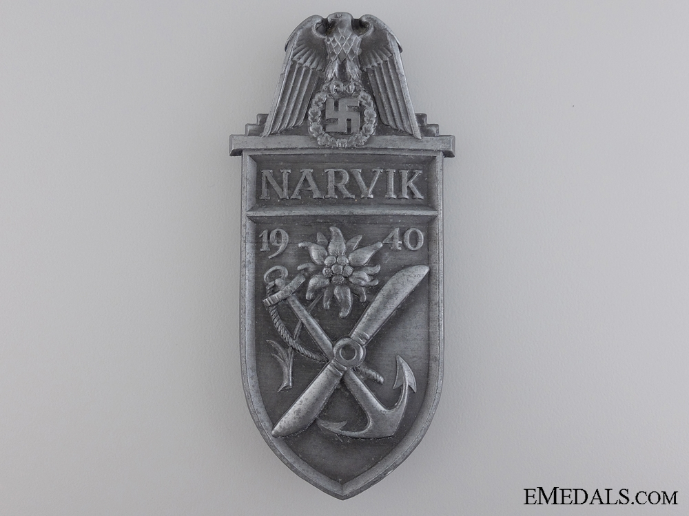 eMedals-A Uniform Removed Narvik Shield
