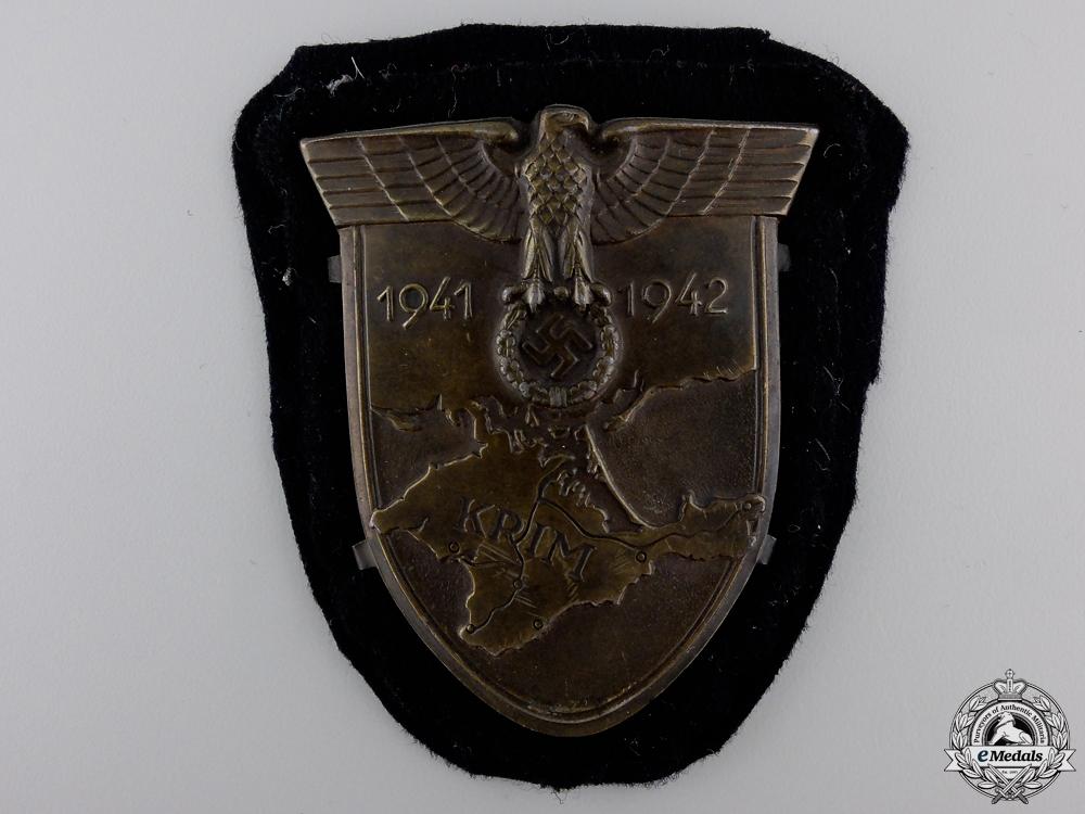 eMedals-A Uniform Removed Krim Campaign Shield