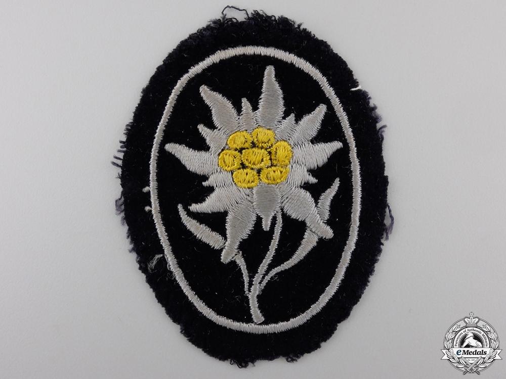 eMedals-A Uniform Removed SS Gebirgstruppen Badge