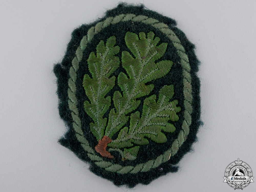 eMedals-A Uniform Removed German Jager Regiment Cloth Patch