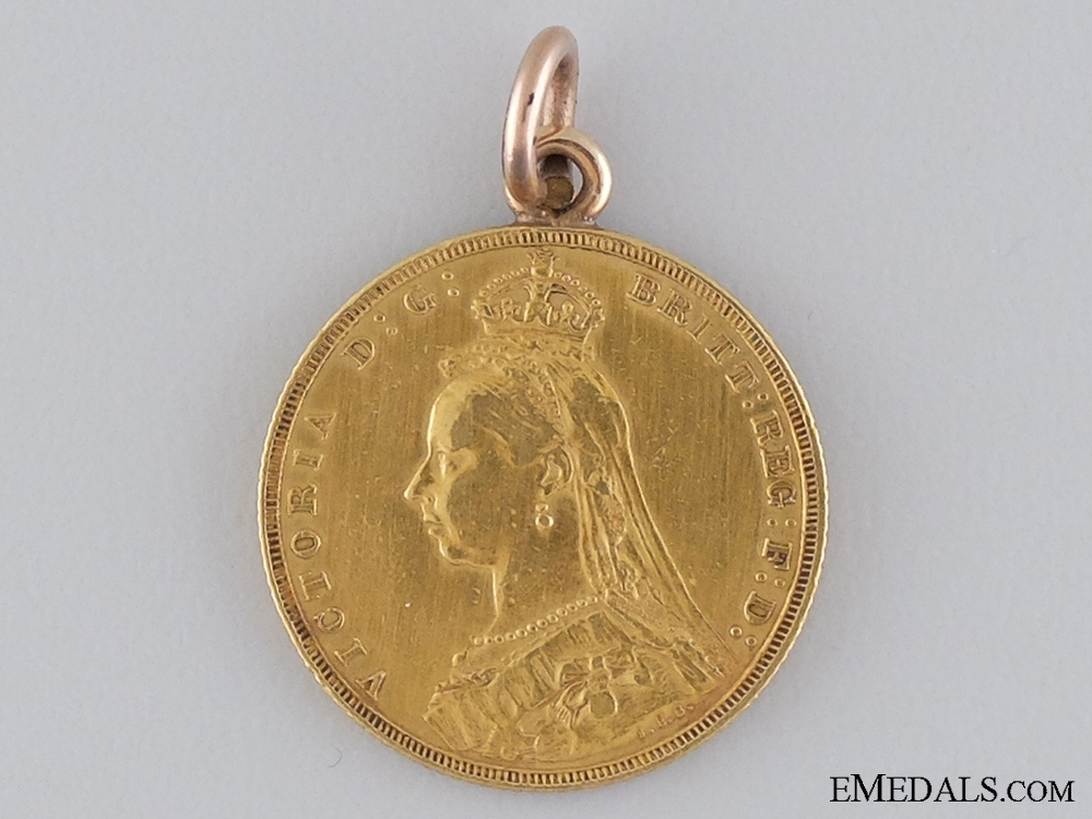eMedals-A Unique Boer War Welcome Home Medal