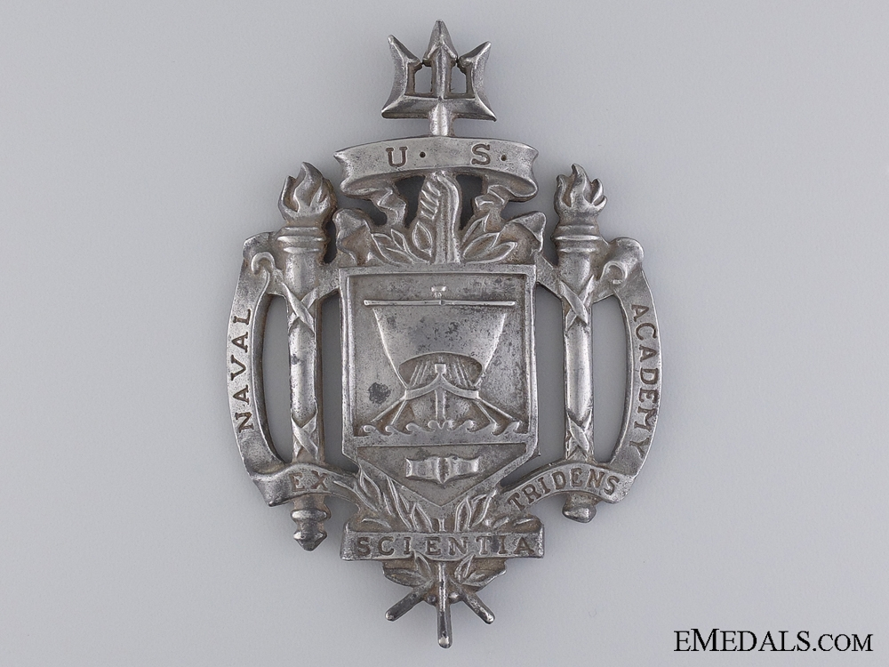 eMedals-A United States of America Naval Academy Badge