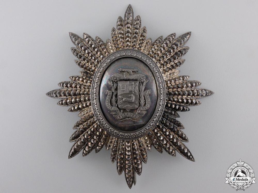 eMedals-Venezuela, Republic. An Order of the Bust of Bolivar; Grand Cross Star, by Lemaitre, Paris, c.1900