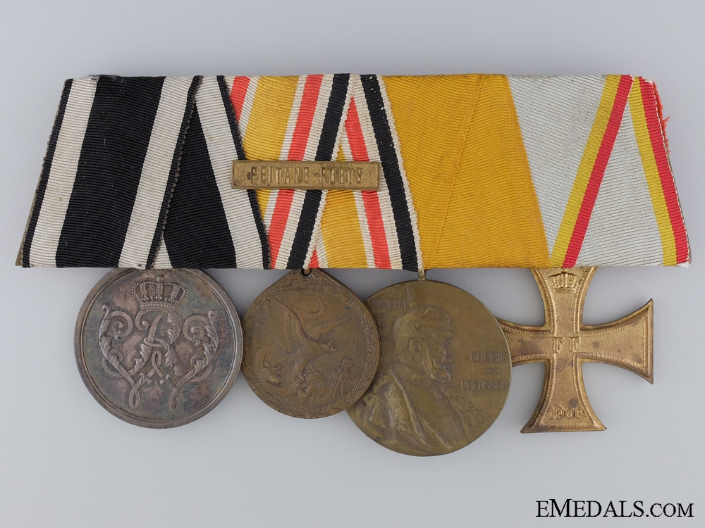 eMedals-A Very Scarce China Campaign Medal Bar