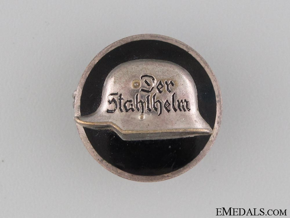 eMedals-A Veterans Organisation Stahlhelm Badge