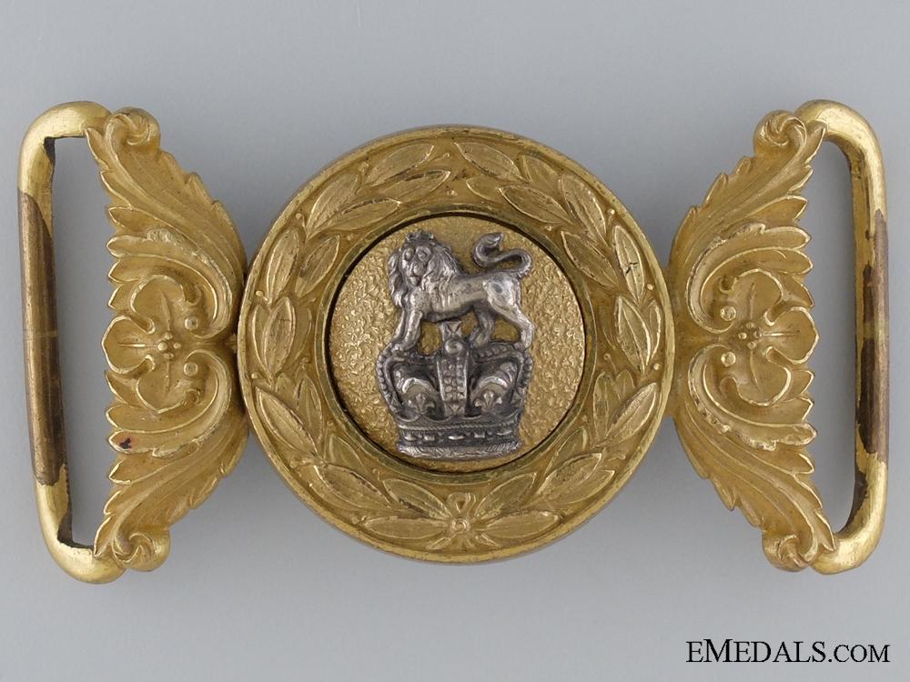 eMedals-A Victorian General Service Belt Buckle