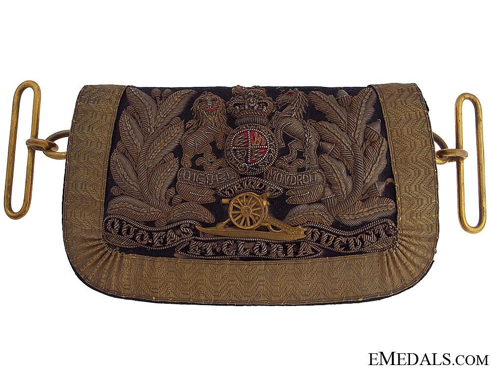 eMedals-A Victorian Royal Artillery Officer's Dress Pouch