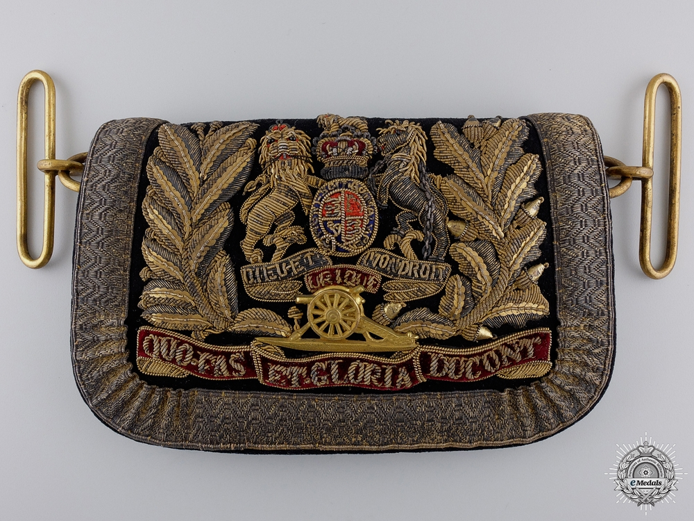 eMedals-A Victorian Royal Artillery Officer's Dress Pouch