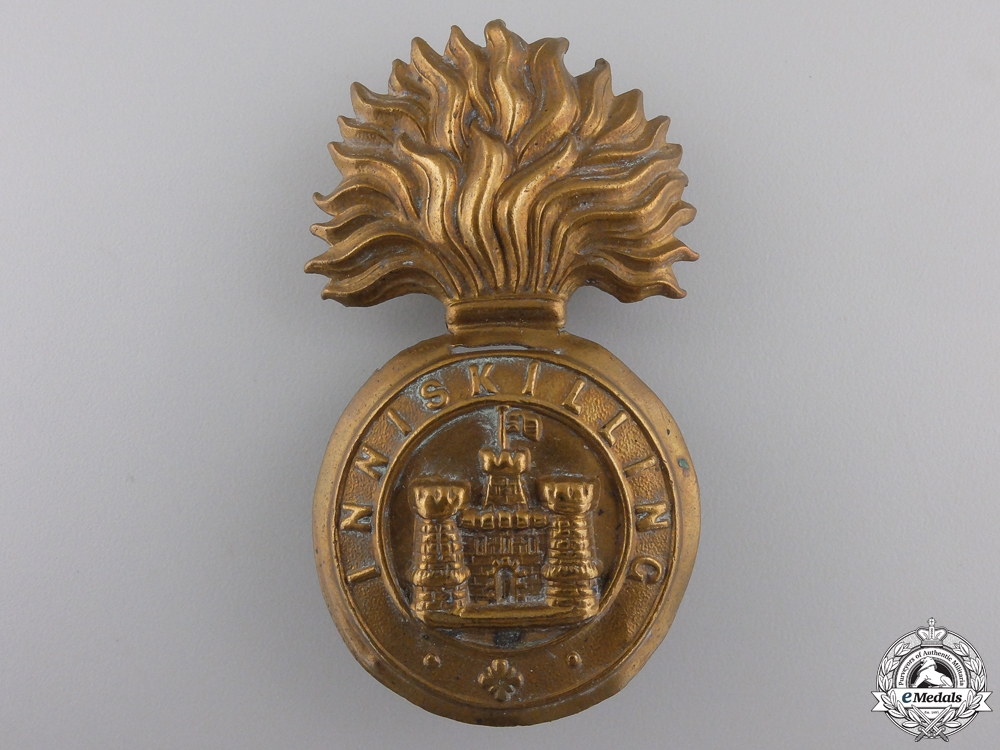eMedals-A Victorian Royal Inniskilling Fusilier's Badge