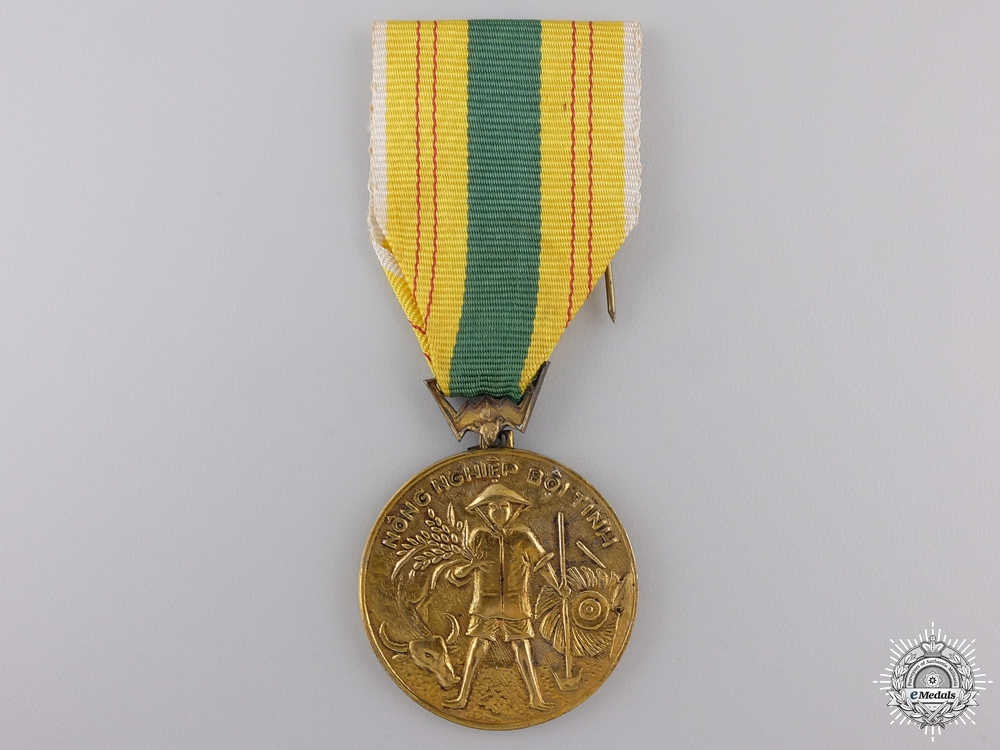 eMedals-A Vietnamese Agricultural Service Medal; 1st Class