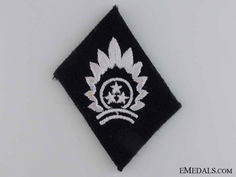 eMedals-A Waffen SS Collar tab of the 15th Latvian SS Freiwilligen Division