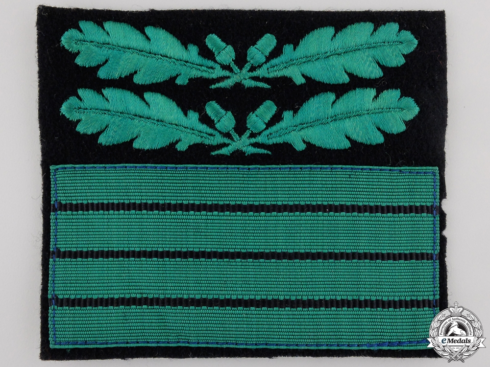 eMedals-A Waffen-SS Cuff Rank Badge for Oberführer (Senior Leader)