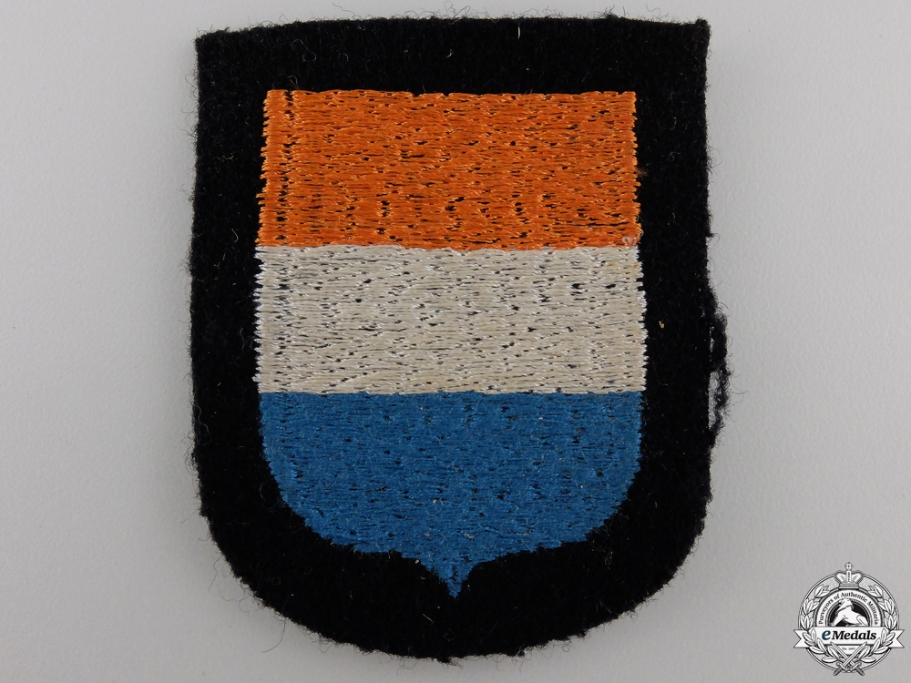 eMedals-A Waffen-SS Dutch Volunteer's Sleeve Shield