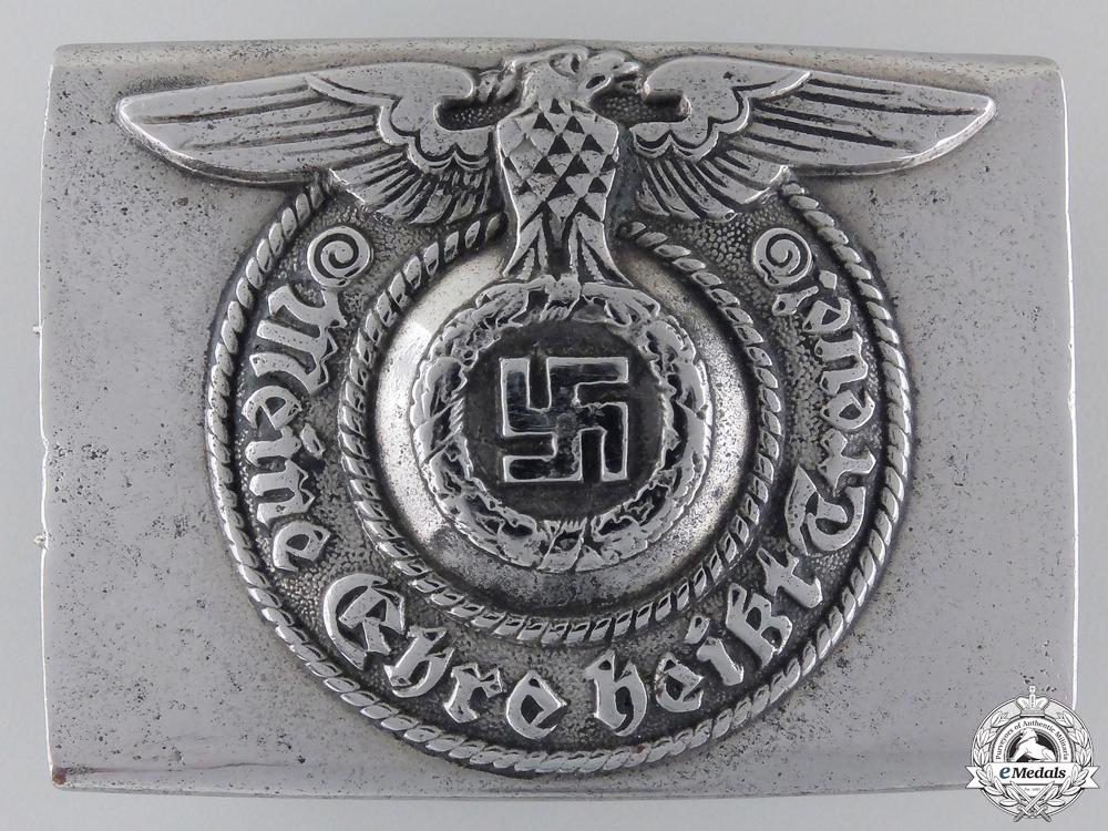 eMedals-A Waffen-SS EM/NCO'S Belt Buckle by Assmann