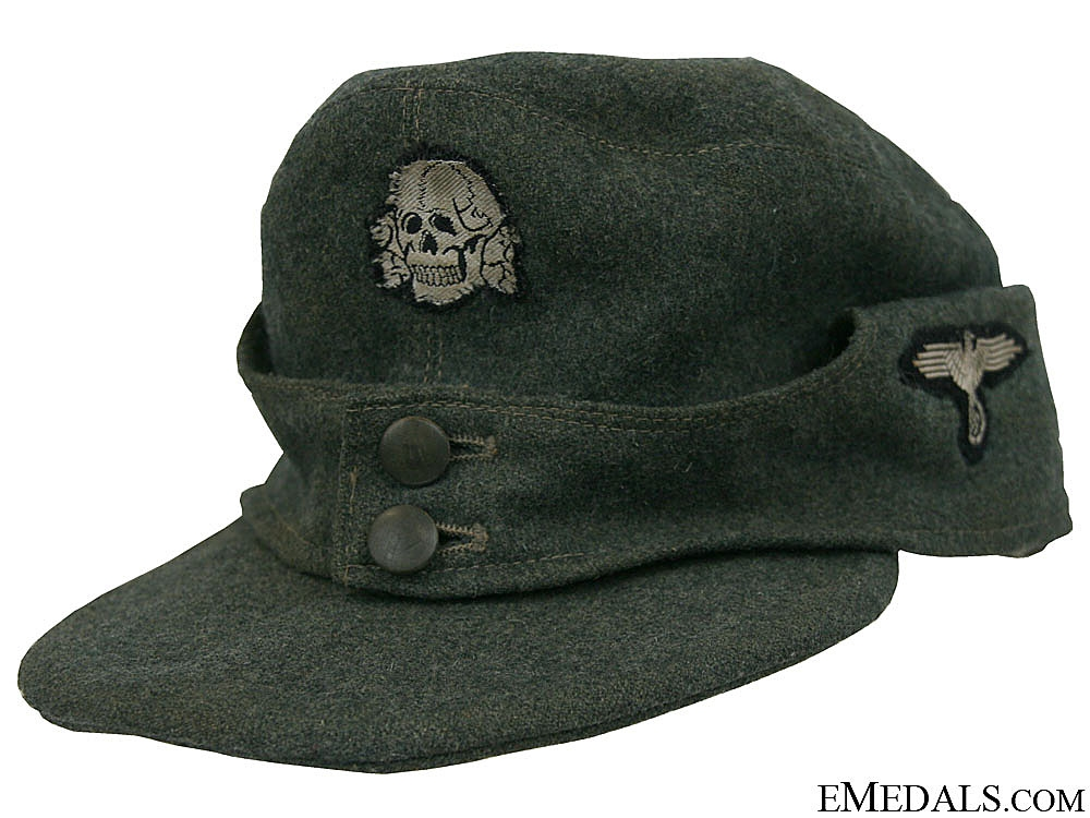 eMedals-A Waffen-SS Other Ranks M43 Cap