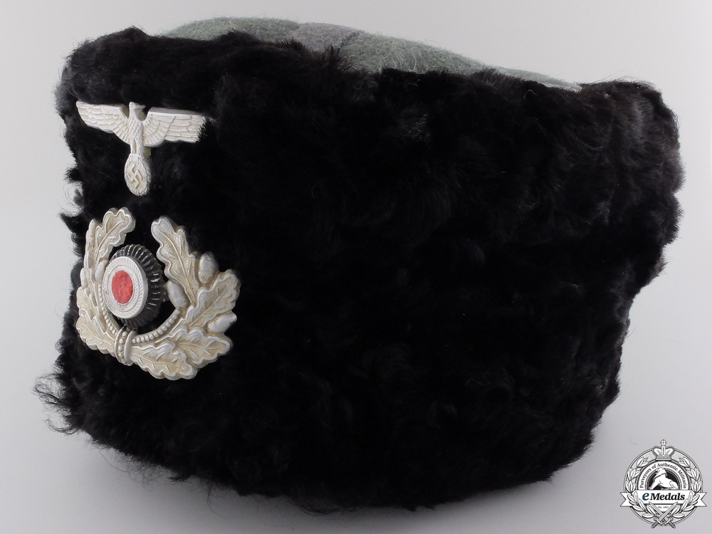 eMedals-A Wehrmacht Fur Cap for Cossacks