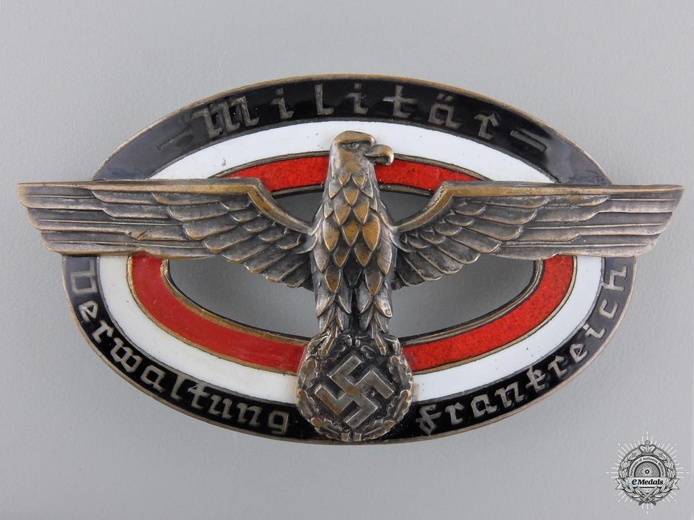 """eMedals-A Wehrmacht Service Badge """"Militar Verwaltung"""""""