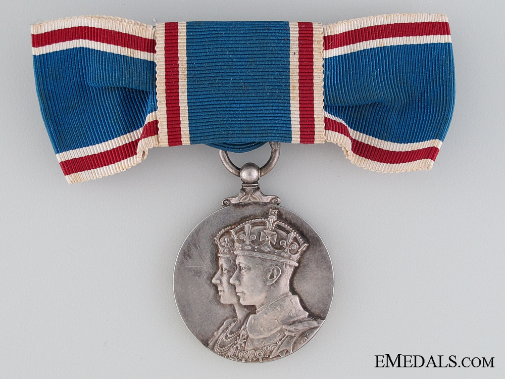 eMedals-A Woman's Coronation Medal 1937