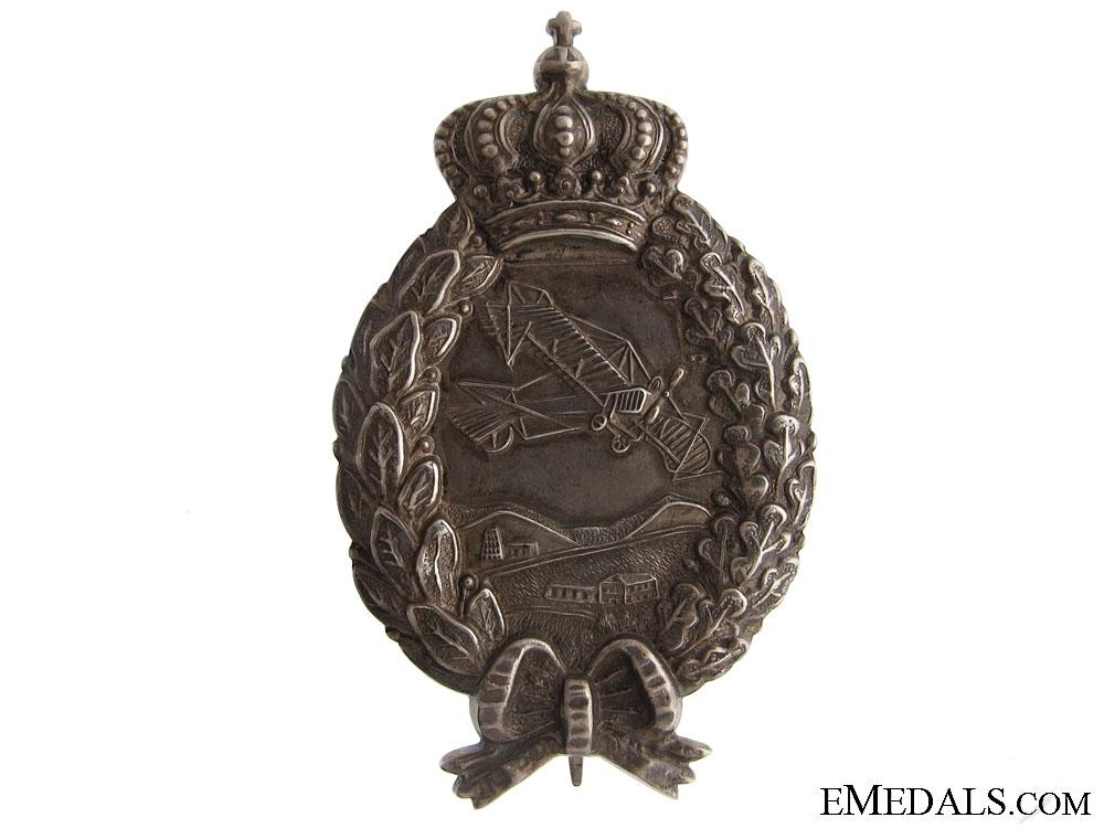 eMedals-A WWI Bavarian Pilots Badge by Karl Pöllath