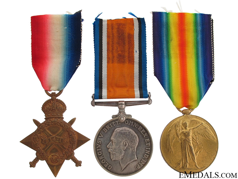 eMedals-A WWI Group to the Royal Montreal Regiment DOI