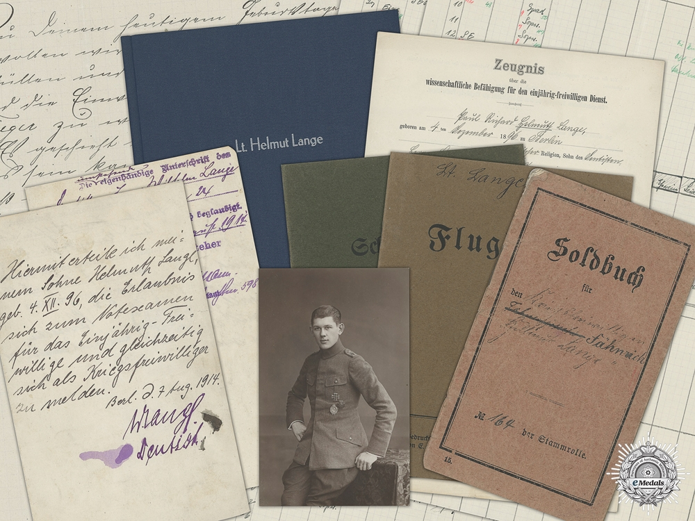 eMedals-A WWI Honor Goblet Document Group to the 24th Figther Squadron