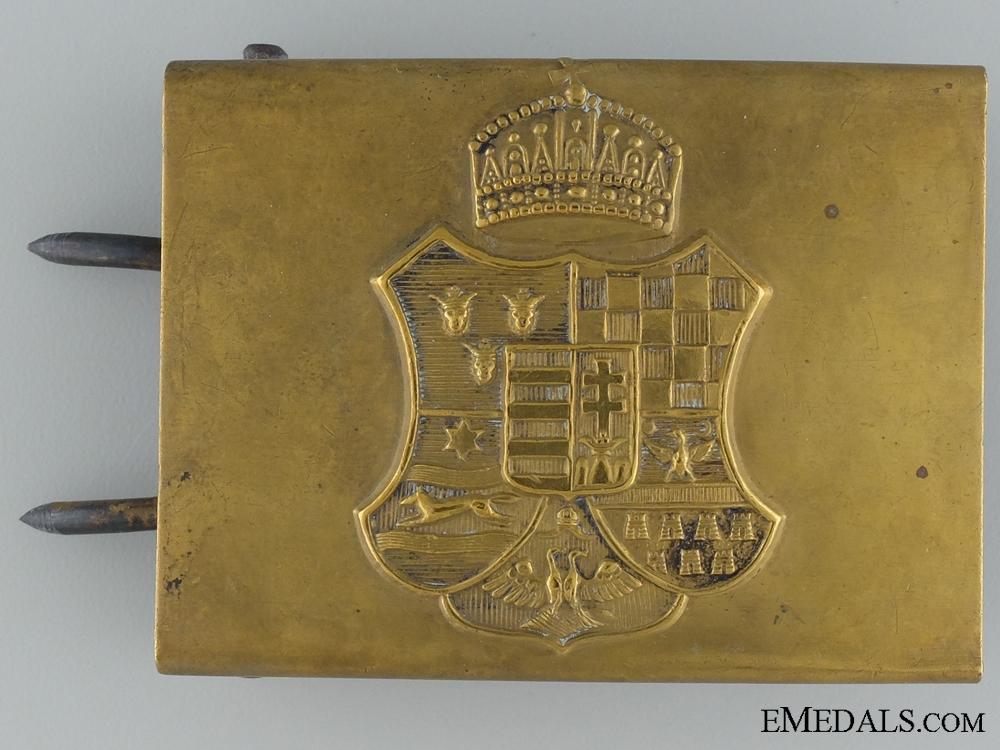 eMedals-A WWI Hungarian EM/NCOs Belt Buckle