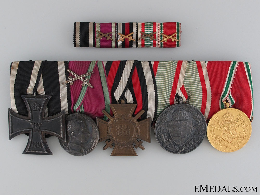 eMedals-A WWI Saxe-Coburg-Gotha Medal Bar