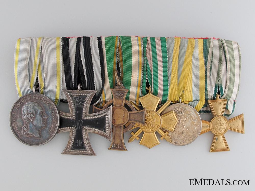eMedals-A WWI Saxon Medal Bar   Consginment
