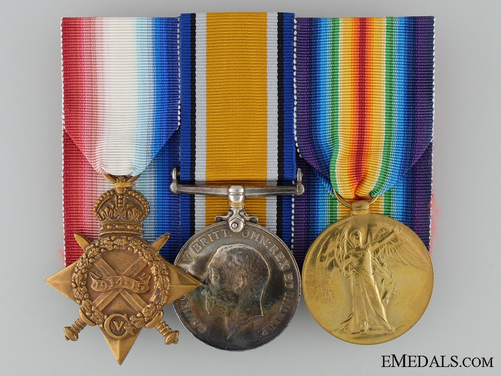 eMedals-A WWI Trio to Engineer Lieutenant of the Royal Navy