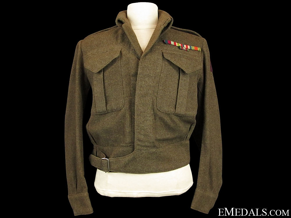 eMedals-A WWII Battledress to the R.C.E.M.E. 8th Army