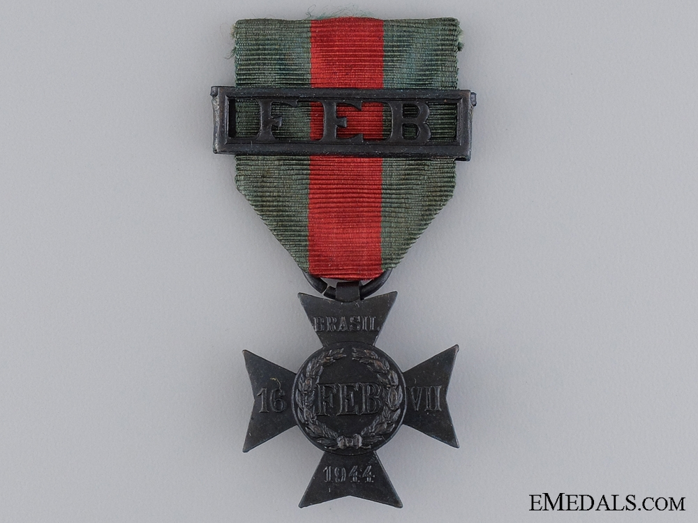eMedals-A WWII Brazilian Brazilian Expeditionary Force Cross (FEB)