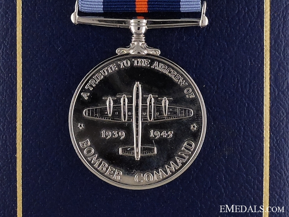 eMedals-A WWII British Bomber Command Medal 1939-1945