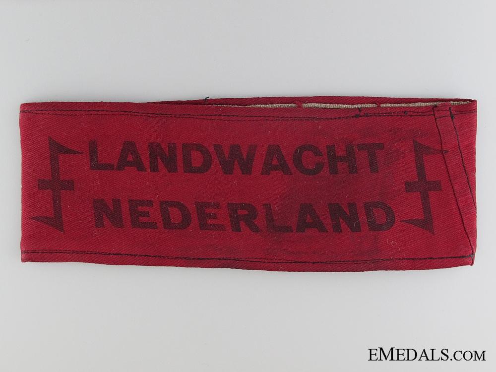 eMedals-A WWII Dutch Landwacht Armband