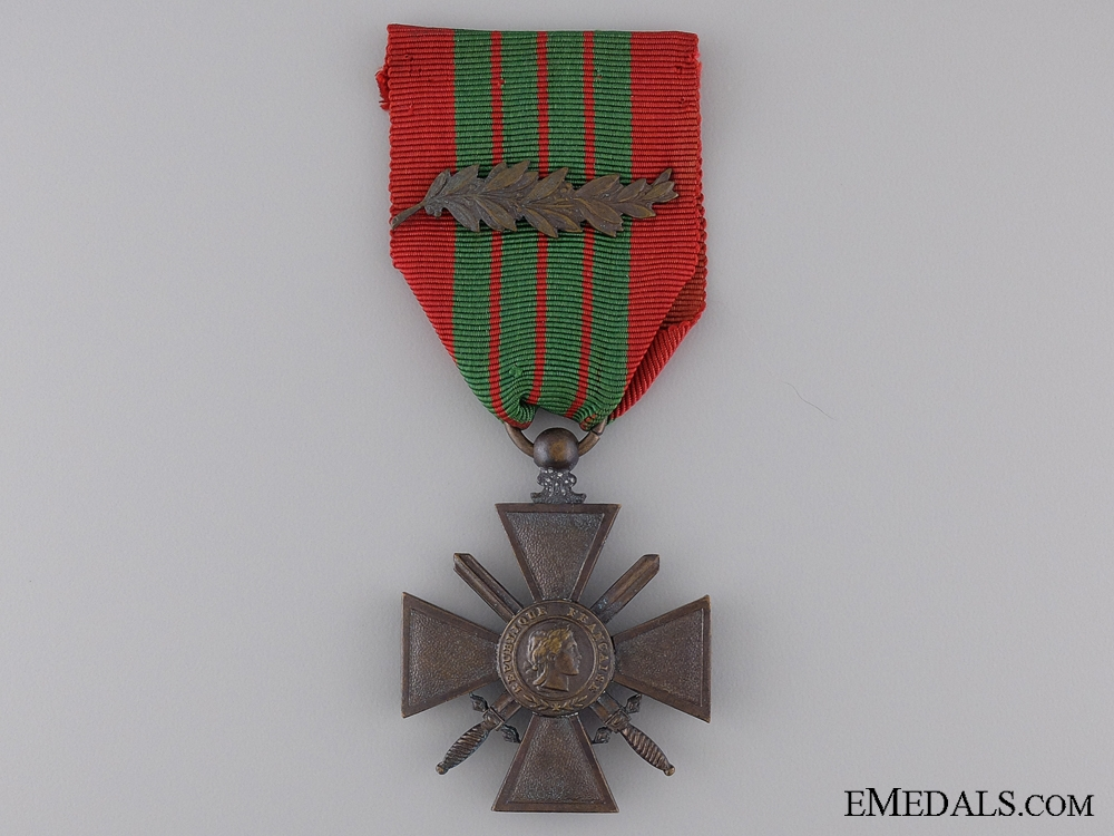 eMedals-A WWII French War Cross 1939-1945