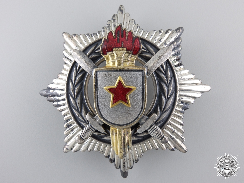 eMedals-A Yugoslavian Order of Military Merit; 3rd Class with Swords