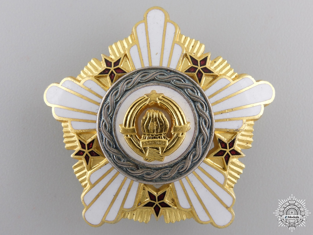 eMedals-A Yugoslavian Order of the Republic; Second Class