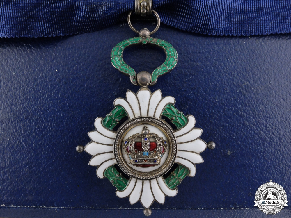 eMedals-Yugoslavia, Kingdom. An Order of the Crown, 3rd Class Commander, c.1935