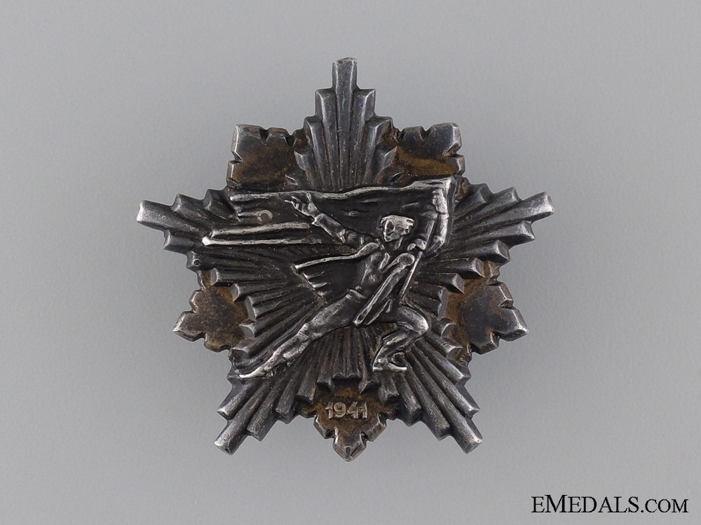 eMedals-A Yugoslavian Partisans Commemorative Decoration; Type II