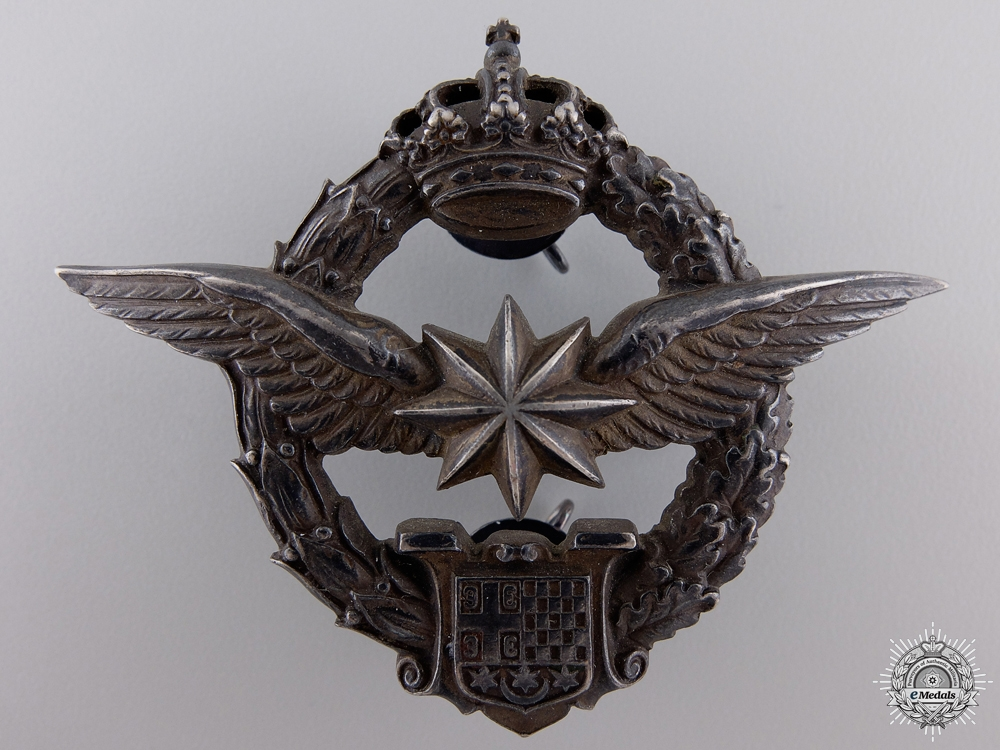 eMedals-A Yugoslavian WWII Army Air Service  Observers and Navigation Badge