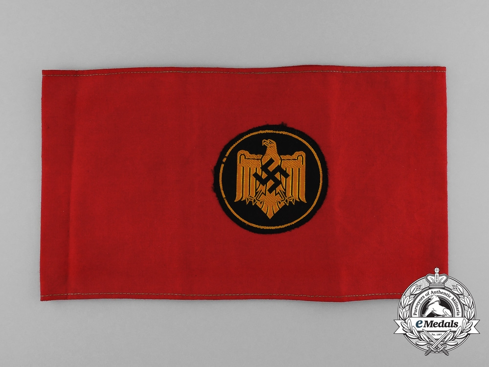 eMedals-A NSRL (National Socialist League of the Reich for Physical Exercise) Sports Leader Armband