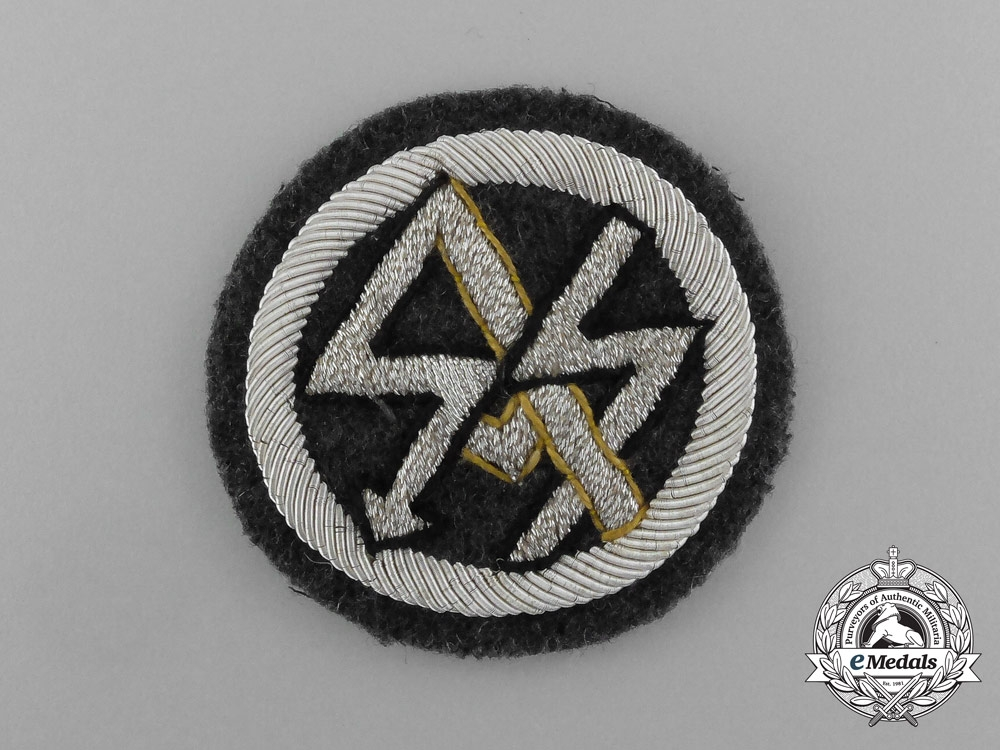 eMedals-A Scarce SA/SS DLV Traditional Badge