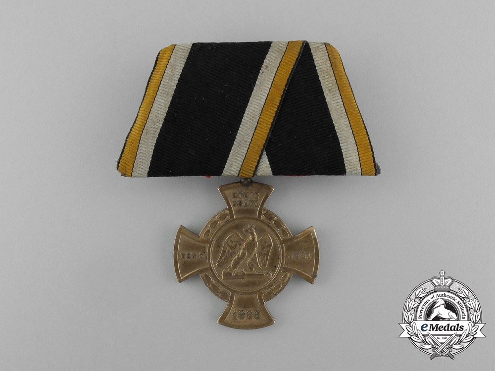 eMedals-A Parade Mounted Prussian Cross for the 1866 Campaign