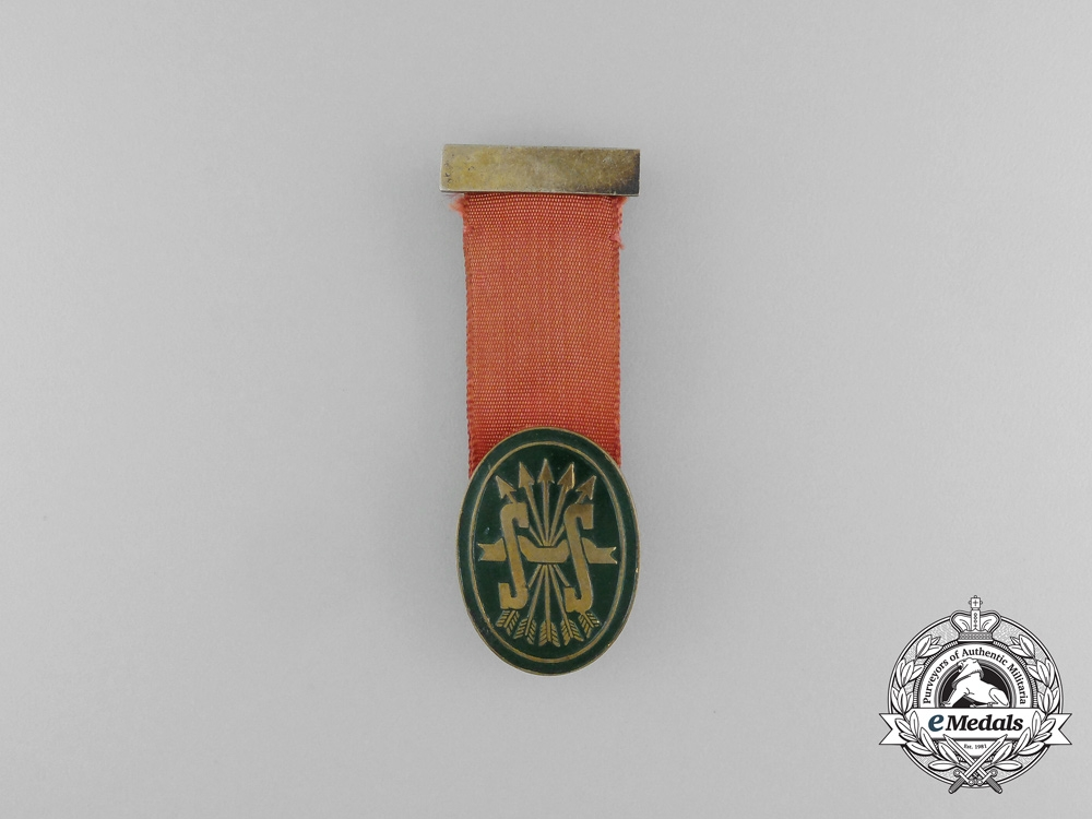eMedals-A Social Services of the Spanish Falange Badge