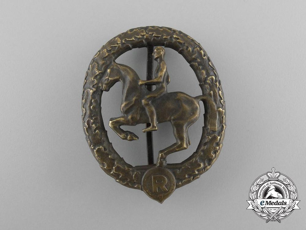 eMedals-A Second War German Equestrian/Horseman's Badge by Christian Lauer