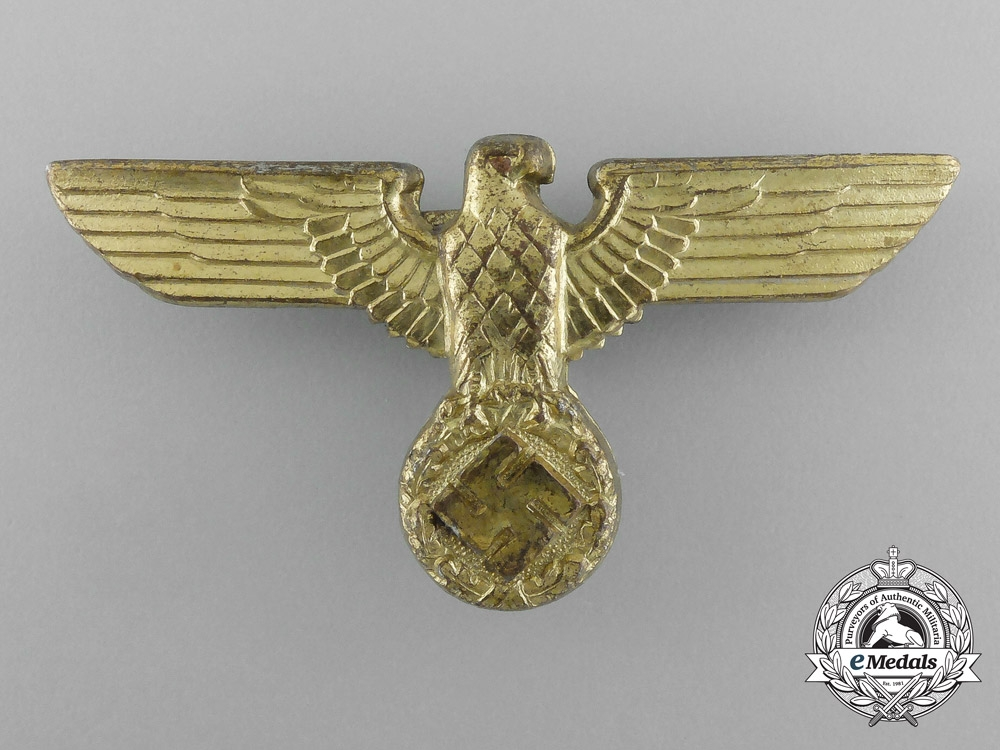 eMedals-A NSDAP Party Leader's Cap Eagle by Paul Meybauer