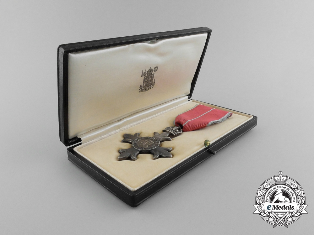 eMedals-A Member of the Most Excellent Order of the British Empire with Case