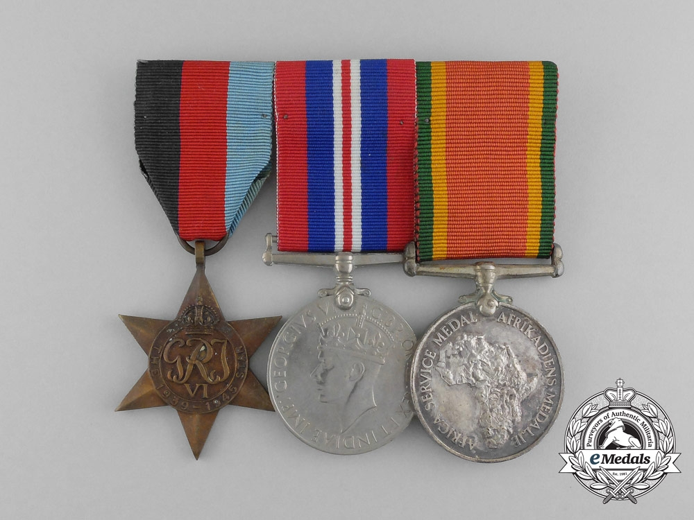 eMedals-A Second War South African Group to the  Active Citizen Force