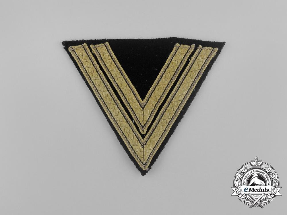 eMedals-A Mint Waffen-SS Tropical Rottenführer Rank Chevron