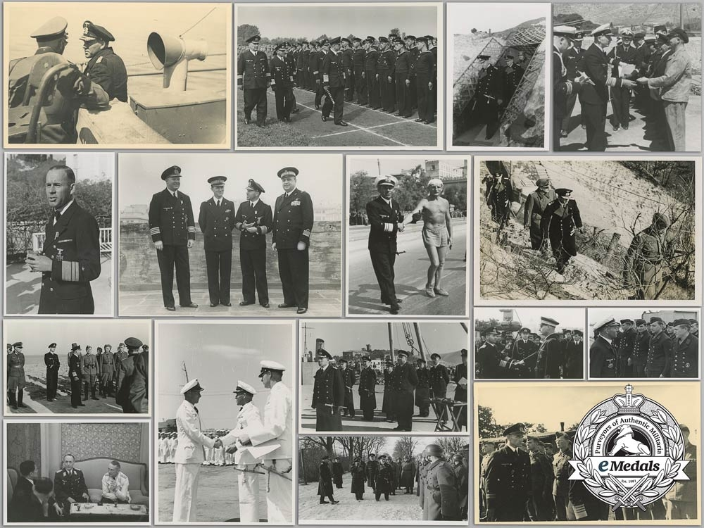 eMedals-A Private Photo Collection of Admiral Erich Förste; Commander of Naval High Command North